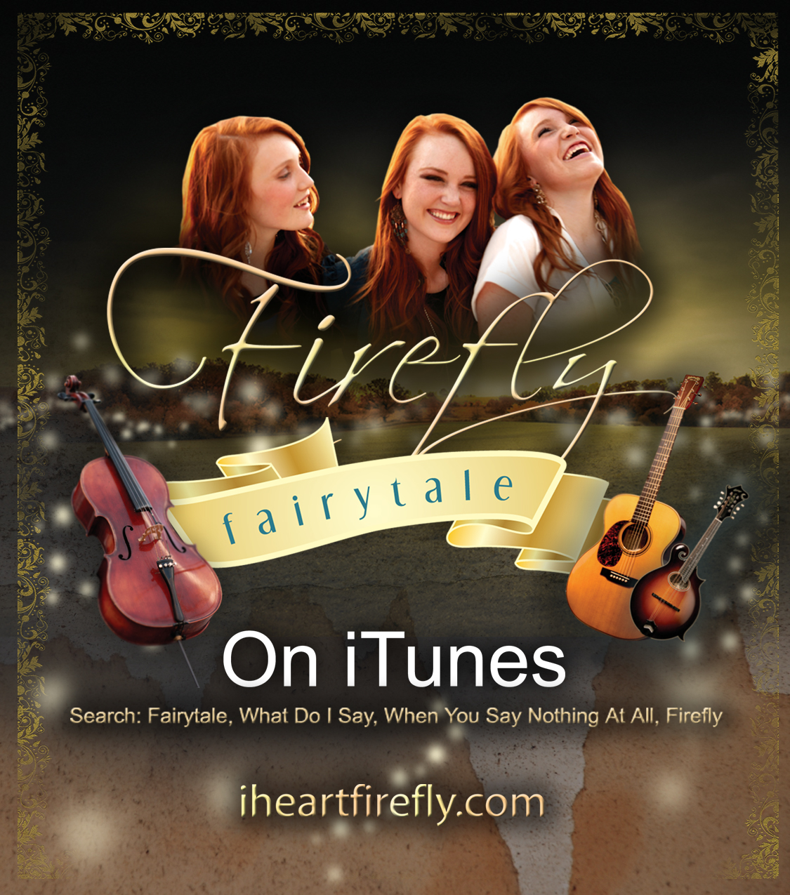Firefly iTunes Promotional Rack Cards