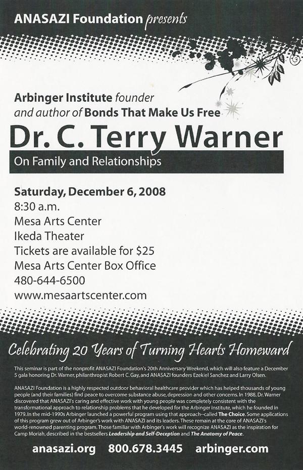 Terry Warner Seminar