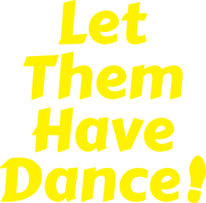 Let Them Have Dance Vertical Logo