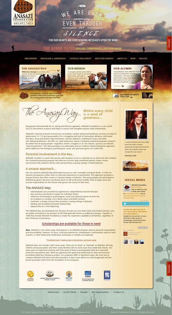 ANASAZI Website